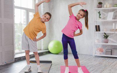 Quédate en casa y haz ejercicio
